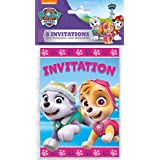 Unique Girl Paw Patrol Invitations, 8Ct