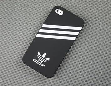 スモールロゴiPhone5iPhone 5 アディダス adidas ケース/黒 ~~ナノSIMアダプタ nano sim adapter
