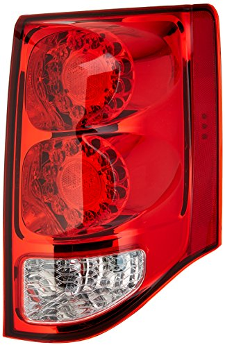 TYC 11-6369-00-1 Dodge Grand Caravan Right Replacement Tail Lamp (Grande 4 Light)