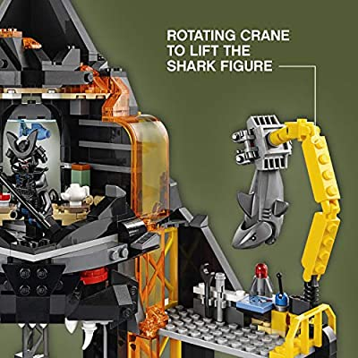 LEGO Ninjago Movie Garmadon's Volcano Lair 70631: Toys & Games