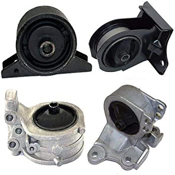 K0040 Fits 2000-2005 Mitsubishi Eclipse 2.4L Engine /& Transmission Mount for AUTO 4 PCS : A4602 A6699 A4621 A4612