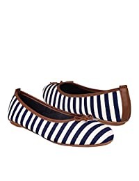 STYLO Zapatos 1599 Textil Blanco/Marino