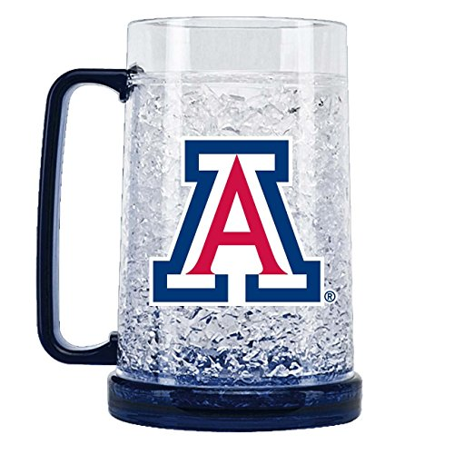NCAA Arizona Wild Cats 16oz Crystal Freezer Mug