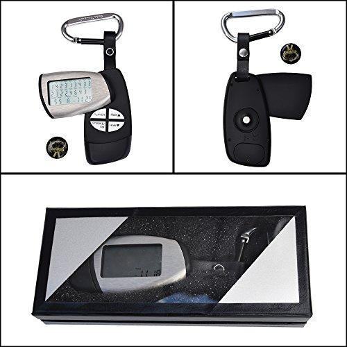 Golf Present Gift Box - Golf Twist Stroke Counter, Score Tracker, Clock and Ball Marker - Golfer's Best Gift Idea