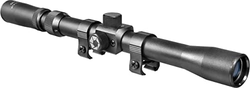 BARSKA 3-7x20 Rimfire Riflescope , Black Matte