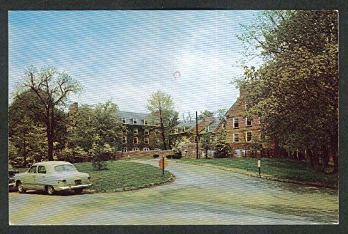 Curtis Hall Denison University Granville OH postcard 1973 from The Jumping Frog