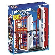 PLAYMOBIL 5361 Fire Station Play Set