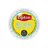 k cups for iced coffee - Lipton Refresh Iced Sweet Tea K-Cups - 24 ct
