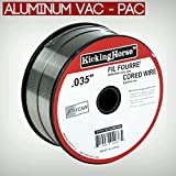 "KickingHorse™ Vac-Pack E71T-11 flux-core gasless welding wire 0.035""(0.9mm), 2 lb 4 inch #2 spool. ★ Canada stock ★"