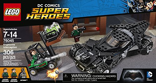 LEGO Super Heroes Kryptonite Interception 76045 at Gotham City Store