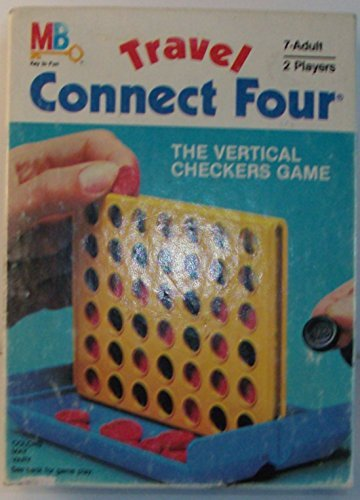 (Vintage 1983 Travel Connect Four by Milton Bradley)