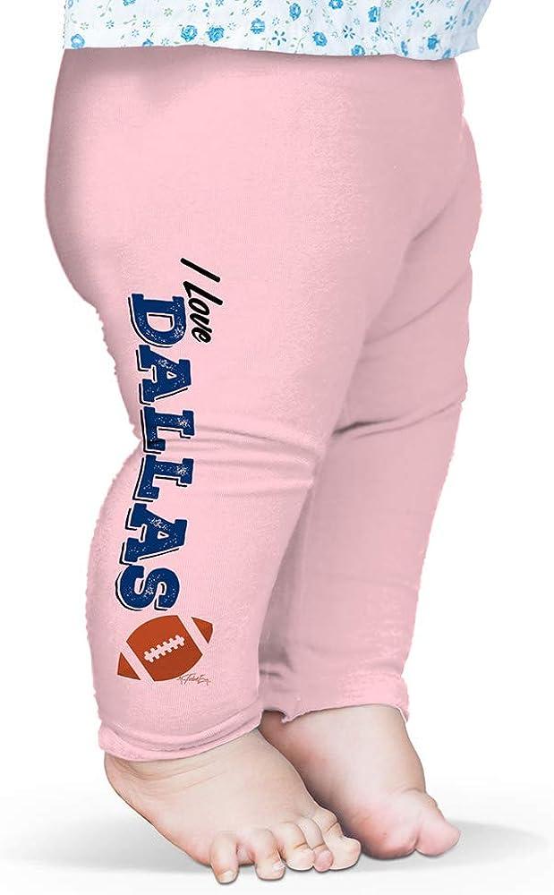 Twisted Envy I Love Detroit American Football Baby Printed Leggings Trousers