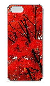 Case For HTC One M8 Cover Nature Maple Leaves PC Custom Case For HTC One M8 Cover Cover Transparent