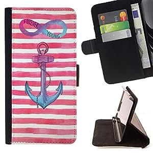 Dragon Case- Caja de la carpeta del caso en folio de cuero del tir¨®n de la cubierta protectora Shell FOR Samsung Galaxy Note 4 SM-N910 N910 IV- Chevron Anchor Boat