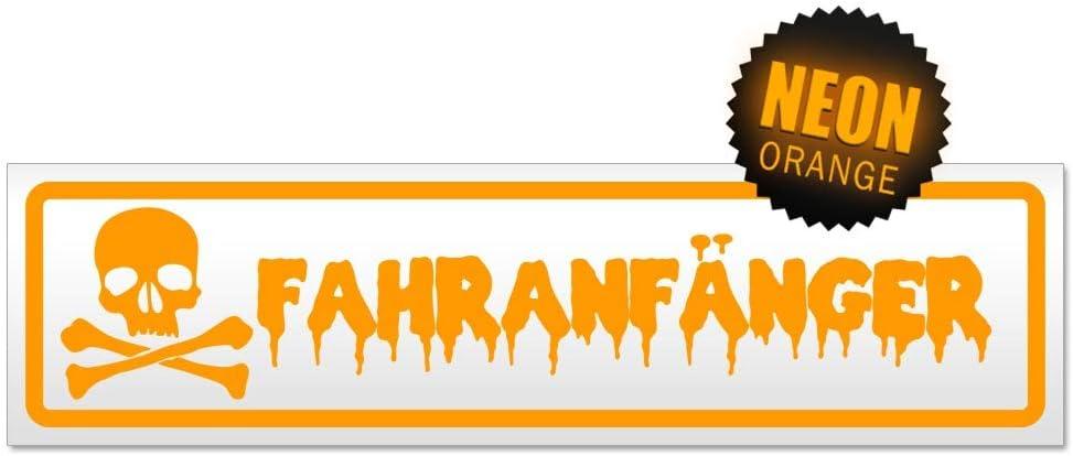 Kiwistar Fahranf/änger Totenkopf Magnetschild Schild magnetisch