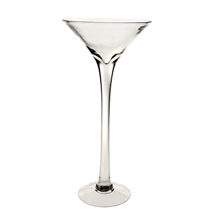 Amazon Clear Tall Martini Glass Vase Height 20 Inch 4 Pack