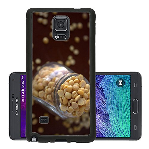 Liili Premium Samsung Galaxy Note 4 Aluminum Backplate Bumper Snap Case Channa Gram Lentils Legume Image 166896 (Split Channa compare prices)