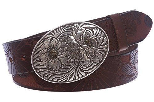 Distressed Embossed Belt (1 1/2