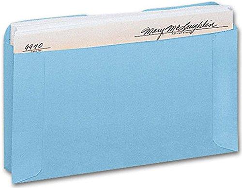 EGP Expansion Card File Pocket Blue