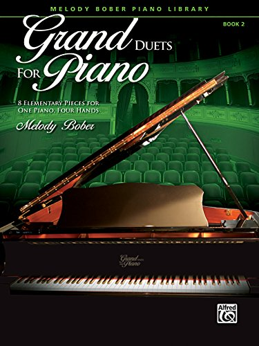 Piano Duet Sheet Music - Grand Duets for Piano, Bk 2: 8 Elementary Pieces for One Piano, Four Hands