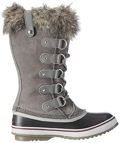 Sorel Women's Joan of Arctic Snow Boots Grey (Quarry, Black 052)