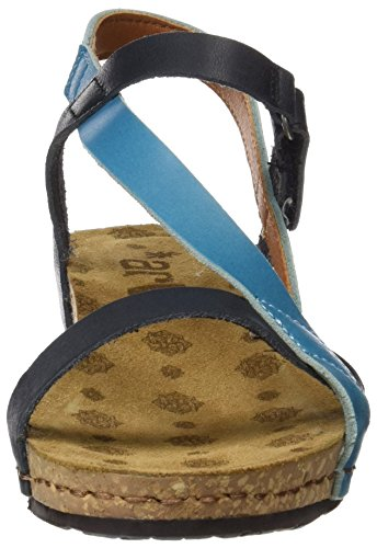 Pompei Mojave Multi Albufera Albufera with Women's Sandals Platform 0736 Blue Art Multi x6wFtw7