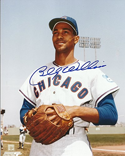 Autographed Billy Williams 8x10 Chicago Cubs Photo