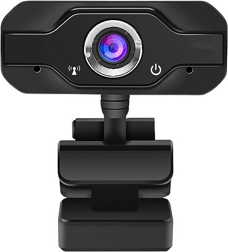 SHMSXTS Cámara Web HD, cámara Web para PC Homga Cámara Web para Juegos 1080P Cámara Web USB con micrófono Cámara para computadora de Escritorio para videoconferencia, grabación y transmisión: Amazon.es: Electrónica