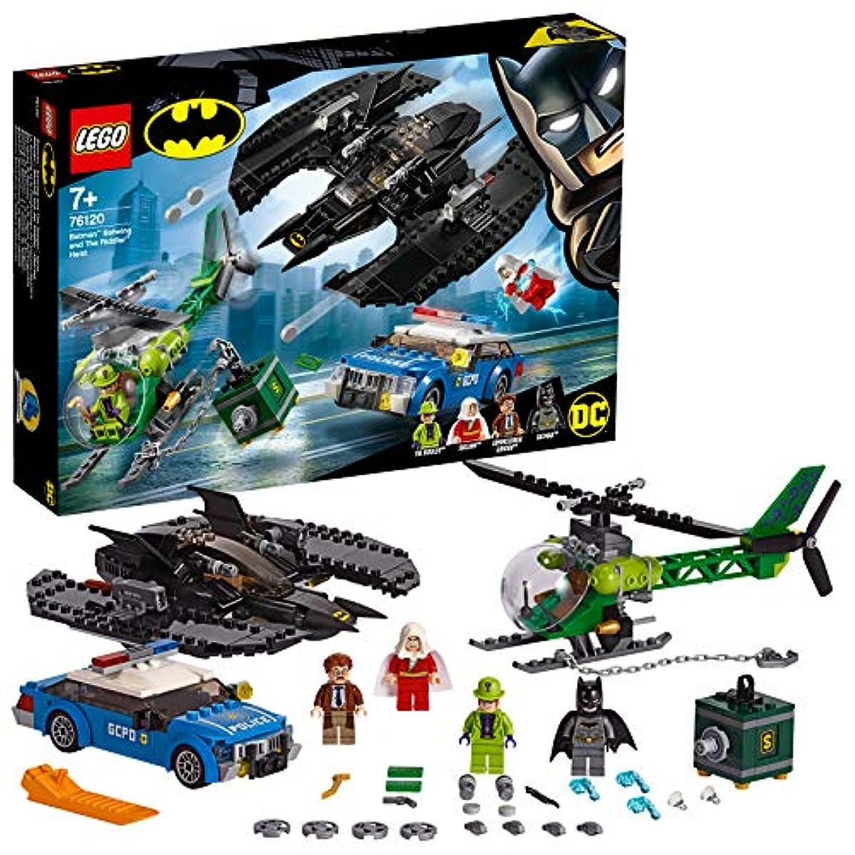[해외] 레고(LEGO) 슈퍼히어로즈 배트맨(TM) 배트 윙과 리들러(TM) 의 강도 76120 블럭 장난감 사내 아이