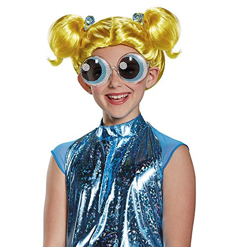 Bubbles Powerpuff Girls Wig, One Size (Him Powerpuff Costume)