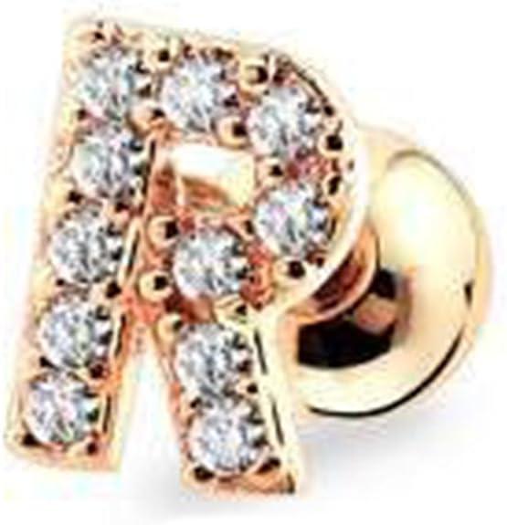 pair Stainless Steel Sandblasted Alphabet V Stud Earrings