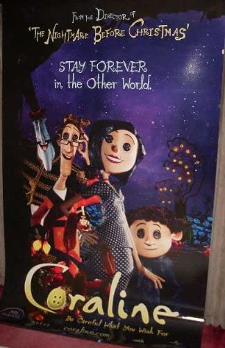 Collectible Coraline Other Family Cinema Banner Amazon Co Uk Kitchen Home