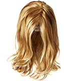 Hairdo Love Love Love Collection Long Full Length Straight Hair with Soft Natural Wave Highlights, R25 Ginger Blonde
