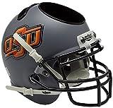 NCAA Oklahoma State Cowboys Helmet Desk Caddy, Matte Grey
