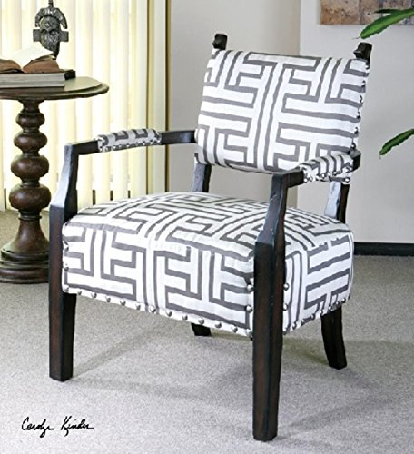 expresso accent chair - 7