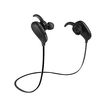 b8cf15ce6 Audífonos intrauditivos Auriculares estéreo inalámbricos del deporte del  auricular de Bluetooth 4.1 con el micrófono para