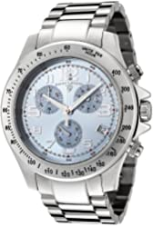 Swiss Legend Men's 50041-102 Eograph Collection Chronograph Blue Dial Stainless Steel Watch