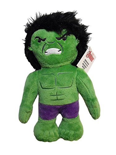 Marvel Avengers Hulk Bruce Banner 7 Plush Character Stuffed Soft Boys Collectible -