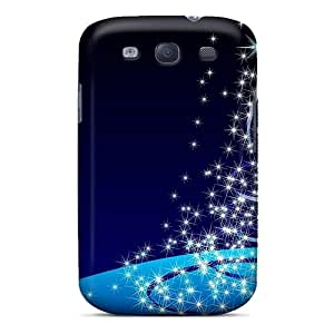 Shock-dirt Proof Christmas Tree Stars Case Cover For Galaxy S3