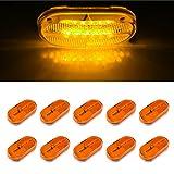 4 x 2 rv marker lights lenses - LTPAG 10pc 4