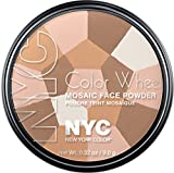 new york in color - New York Color Wheel Mosaic Face Powder, Translucent Highlighter Glow, 0.32 Ounce