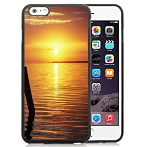 New Personalized Custom Designed For iPhone 6 Plus 5.5 Inch Phone Case For Calm Lake Sunset Phone Case Cover
