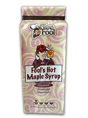 - The Coffee Fool Drip Grind Coffee, Fool's Hot Maple Syrup Strong, 12 Ounce