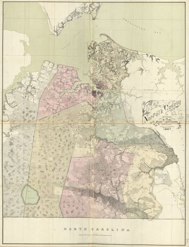 Map of Norfolk County, Va. : made for and published by authority of the Board of Supervisors South Hampton Roads|South Hampton Roads Region|Virginia|Chesapeake|South Hampton Roads|South Hampton - Stores Va Chesapeake In