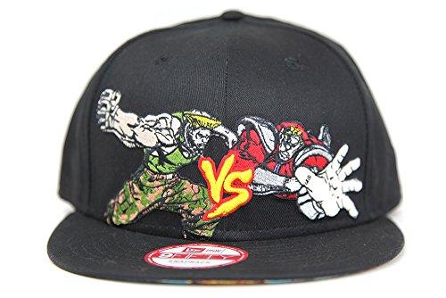 Capcom Street Fighter Guile VS M. Bison (Vega) Black Multi Color New Era 9FIFTY Snapback Hat
