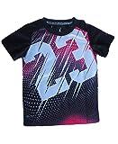 Jordan Air Toddler Dri Fit Jersey T-Shirt (Black, 5)