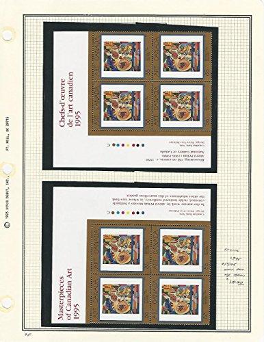 Canada, Postage Stamp, 1545 Mint NH Blocks (p) 1995 Art, Alfred Pellan