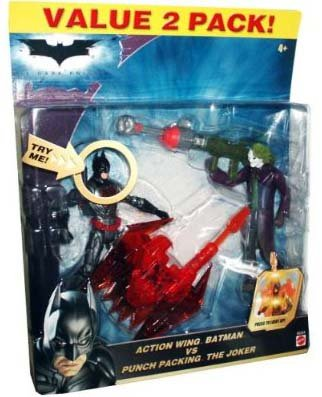 The Dark Knight - 2008 - Action Wing Batman Vs Punch Packing The Joker - Valu...