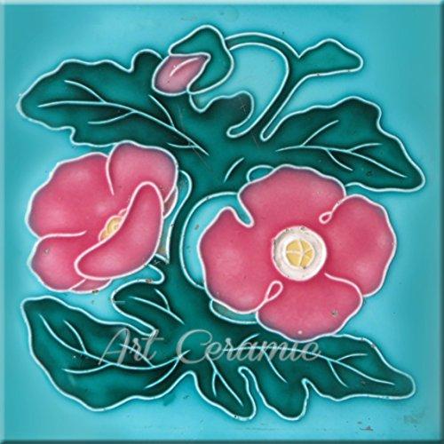 - Art Nouveau Ceramic Tile 6 Inches Reproducction #312