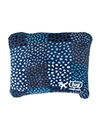 Lug Nap Sac Blanket and Pillow, Confetti Blue